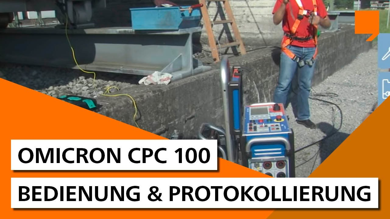 operating the omicron cpc 100 youtube
