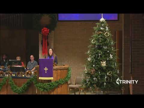Trinity UMC Traditional Worship | Hanging of the Greens 12-1-19