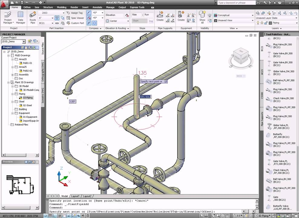 Autocad plant youtube for Plante 3d dwg