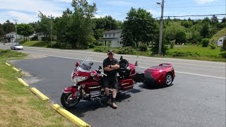Me,The Wife, and the GL1800 GoldWing