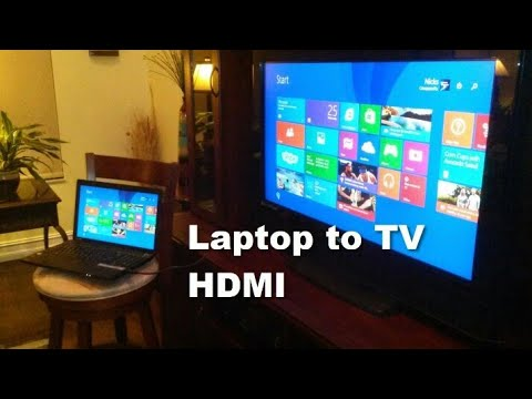 Cara Menyambungkan Laptop Ke TV Via HDMI + Setting Full & Suara