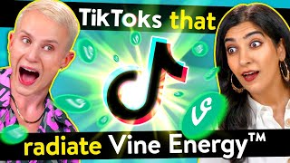 College Kids React To TikToks That Radiate Vine Energy
