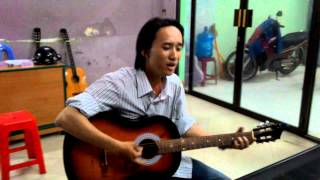 Hãy sống cho tuổi trẻ - guitar cover - Đinh Ngọc Huy - Lớp nhạc dấu chấm đen