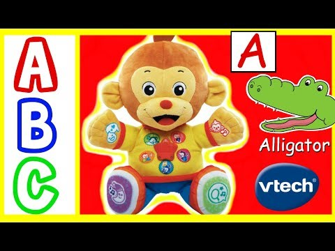 Learn ABC Alphabet With VTech Chat & Learn Reading Monkey!  Learn ABC Alphabet Animals