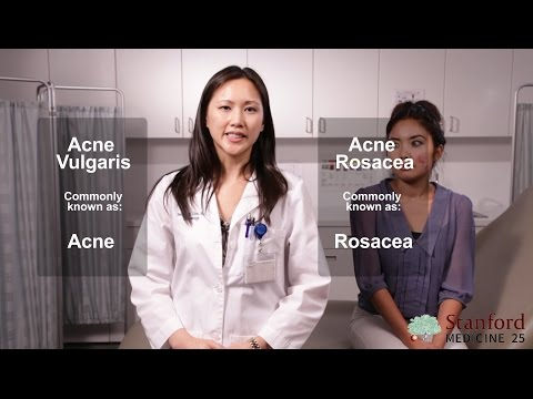 Diagnosing Acne vs  Rosacea (Stanford Medicine 25) - YouTube
