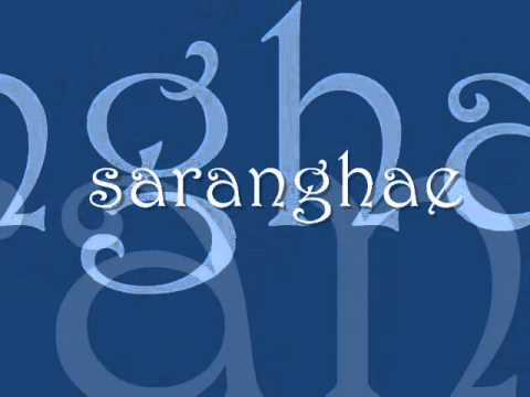 Saranghae lyrics by Sabrina (Perfect Match OST)