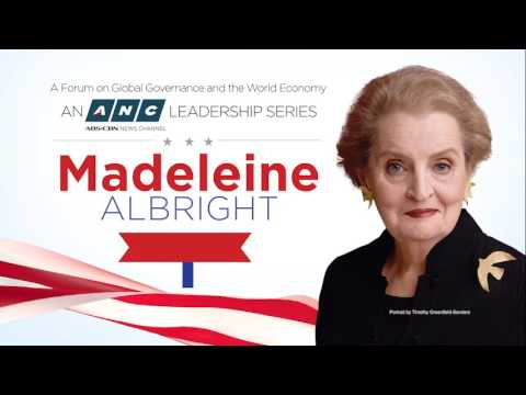 An ANC Leadership Series with Madeleine Albright, July 19, 2017