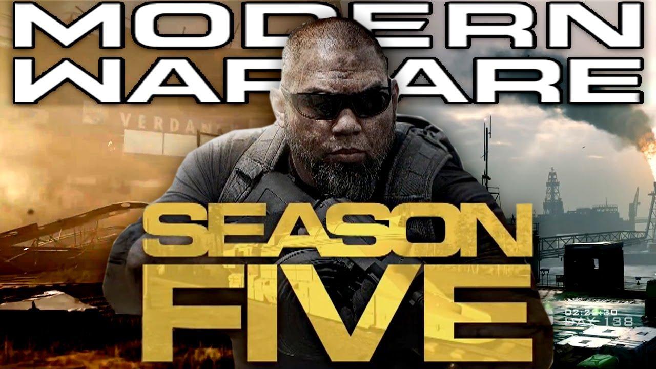 Modern Warfare Season 5 Revealed Warzone Weapons And Maps Youtube