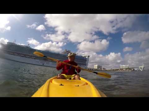 Kayaking Ft Lauderdale Port
