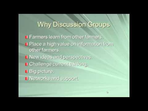 Anaerobic Digester Operator Discussion Group