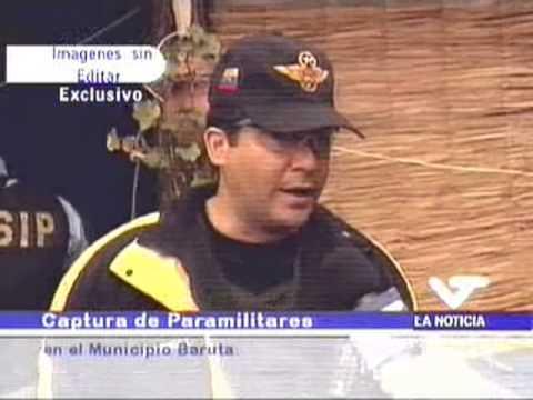 Paramilitares en finca Daktari, 9 mayo 2004. Miguel Rodríguez Torres declara