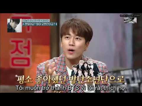 [Eng/Vietsub] Sechskies Jang Su Won says he likes BTS Jin in Amazing Saturday E66