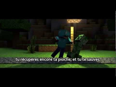 "[VOSTFR] ""Revenge"" Minecraft parody by CaptainSparklez"