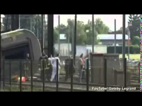 Seven dead in horror crash as train derails in France
