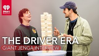Download lagu The Driver Era Answer Questions While Playing Giant Jenga!
