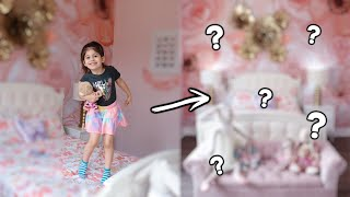 REVEALING PENELOPE'S NEW BEDROOM! *EXTREME ROOM MAKEOVER*