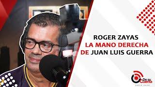 Roger Zayas la mano derecha de Juan Luis Guerra.