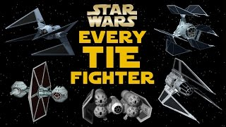 All TIE Fighter Types and Variants in Star Wars Legends
