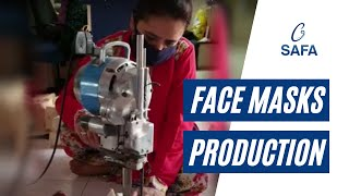 Face Masks   Production Process   Social Enterprise Unit   SAFA   NGO   Hyderabad