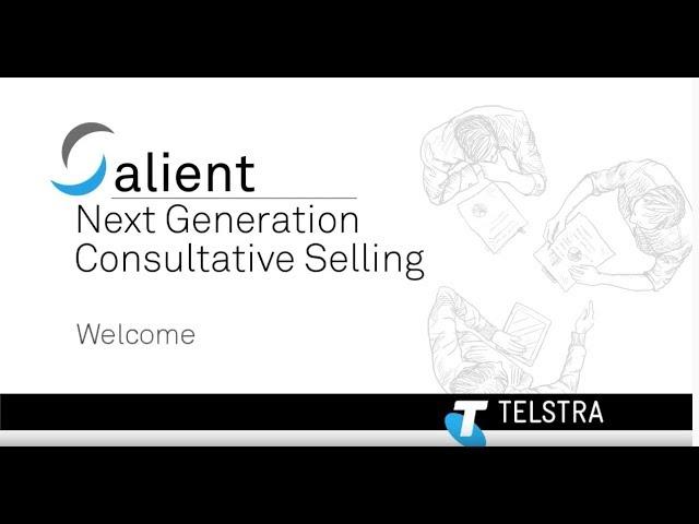 Next Gen Selling - Intro ( Telstra )