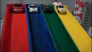 Hello Carbot Minicar Robot Color Slide Toys 헬로카봇 마이크로 컬러 미끄럼틀 장난감 놀이