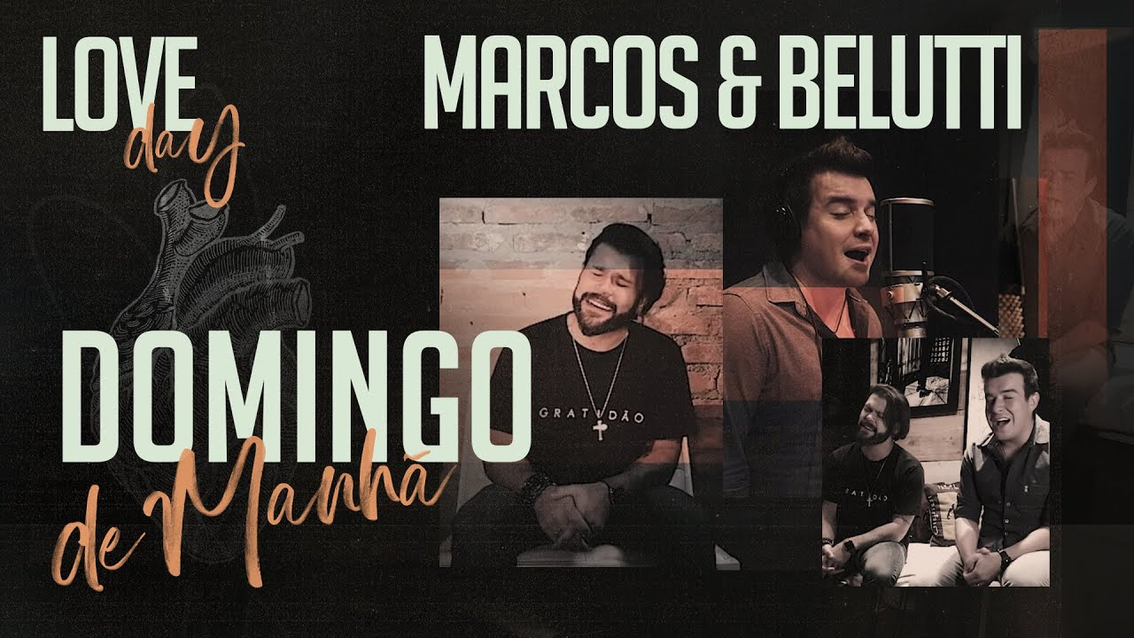 Analaga Marcos Belutti Domingo De Manhã Clipe Oficial Love Day Youtube