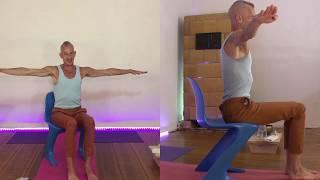 Office Yoga 1 (e) - easy exercises for desk jockeys before, while or after work