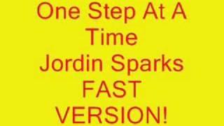 Jordin Sparks One Step At A Time Fast!