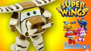 Super Wings Bello Zuzu Robot Transformable 출동슈퍼윙스 신제품 장난감 - 비행기 Jouet Toy Review