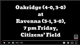 Previewing 2018 Oakridge-Ravenna football matchup