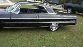 1964 Chevy Impala For Sale~Black/Black~350 Crate Motor~Pwr Steering & Pwr Brakes~Air Conditioning