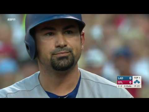 July 24, 2016-Los Angeles Dodgers vs. St  Louis Cardinals
