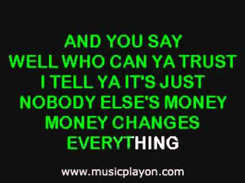 Cyndi Lauper   Money Changes Everything
