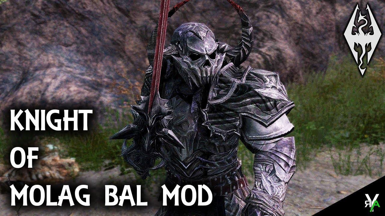 KNIGHT OF MOLAG BAL ARMOR: Armor Mod!!- Xbox Modded Skyrim Mod Showcase