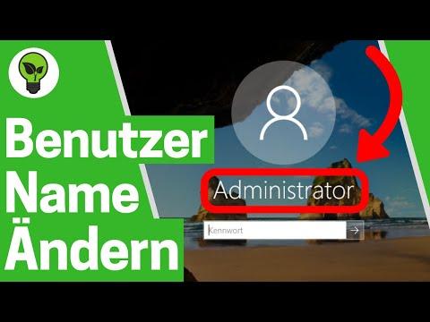 Windows 10 Benutzername Ändern ✅ ULTIMATIVE ANLEITUNG: Wie PC Account Name & Konto Umbenennen???