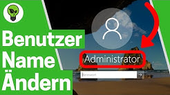 Windows 10 Benutzername Ändern ✅ ULTIMATIVE ANLEITUNG: Wie PC Account Name & Konto Umbenennen???