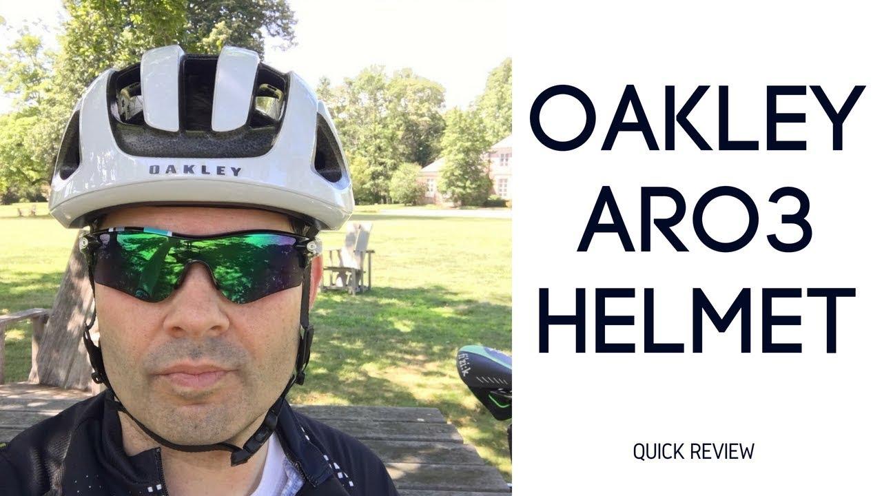 22df75ed43 Oakley ARO3 Helmet - YouTube