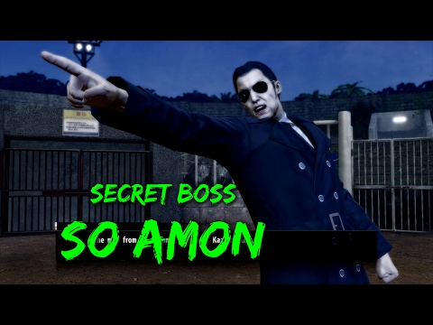 Yakuza 0 - Secret Boss: So Amon (LEGEND)