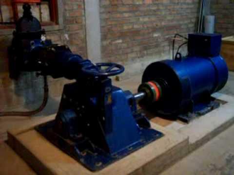 Minicentral hidroelectrica 3HC de 100 KW