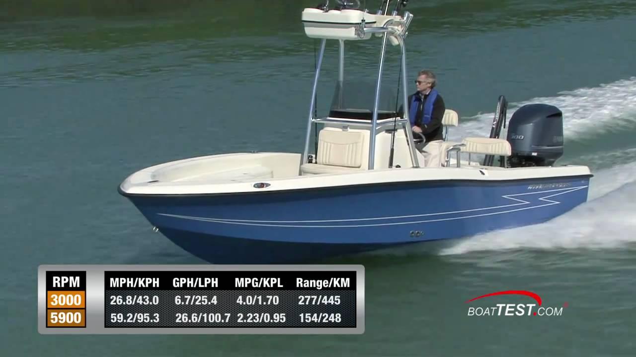 Hydra Sports Boats >> Hydra-Sports 23 Bay Bolt 2011 Performance Test - By ...