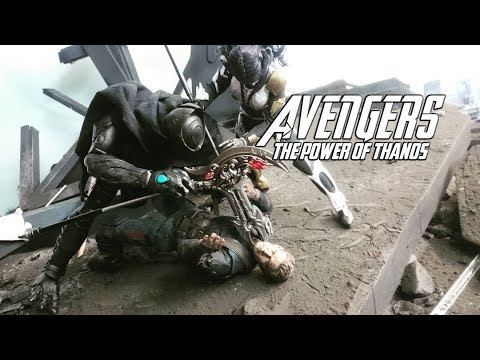 Avengers : The Power Of Thanos - Episode 9 STOP MOTION