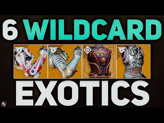 SIX Wildcard EXOTICS (Update 2.0) | Destiny 2 Forsaken
