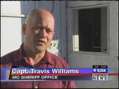 Burglar leaves blood at crime scene, Thornton Shell Gas Station