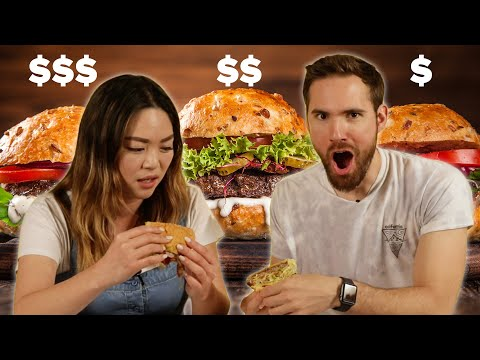 Cheap Vs. Expensive: Burgers