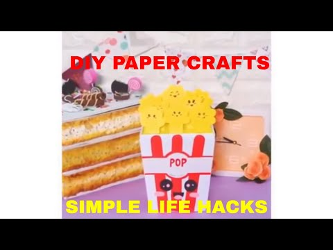 DIY PAPER CRAFTS, SIMPLE LIFE HACKS, STUFF THAT MATTERS