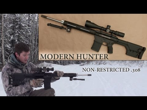 Alberta Tactical Rifle's Modern Hunter Hands-On: Non-Restricted Canadian .308 Rifle
