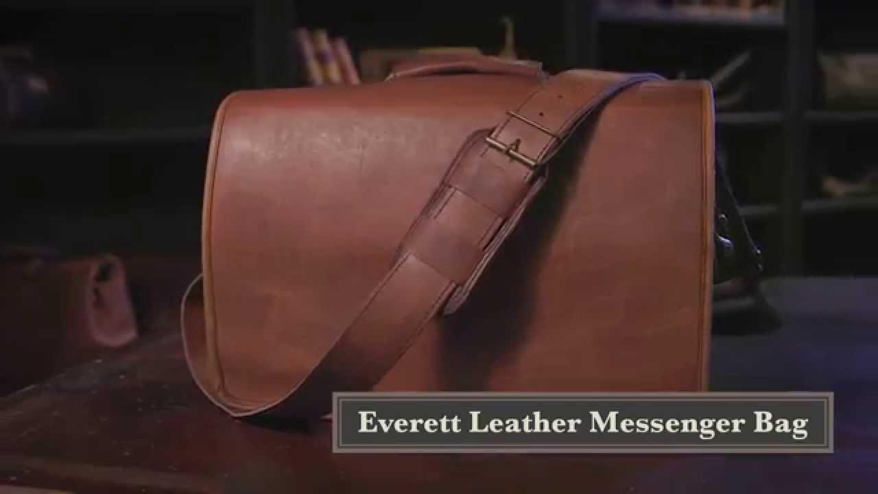 478596c041ae Everett Messenger Bag Briefcase by Buffalo Jackson - YouTube