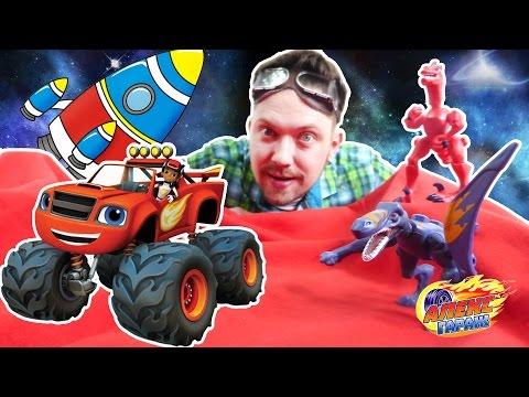 Вспыш и чудо машинки новые серии Развивающие мультики про машинки для детей Монстр Траки Мультфильм