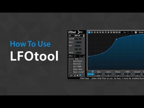 How to use Xfer's LFO Tool