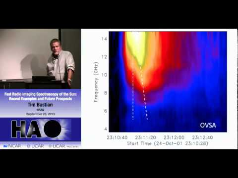 Tim Bastian | NRAO | Fast Radio Imaging Spectroscopy of the
